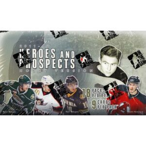 2011-12 In The Game Heroes & Prospects Hockey Hobby Doboz