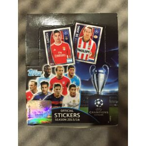 Topps UEFA Champions League Matrica Display doboz