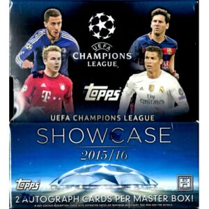 2015-16 Topps UEFA Champions League Showcase mini doboz